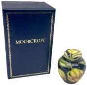 Moorcroft miniature ginger jar