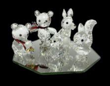 Swarovski crystal fox
