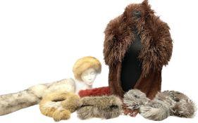 White Saga fox stole