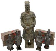 Chinese 'Terracotta Warrior' style figure