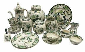 Masons 'Chartreuse' Ironstone ceramics