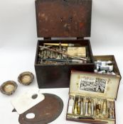 Early 20th century artist's materials box
