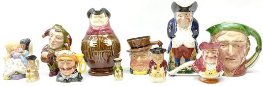 Character and toby jugs