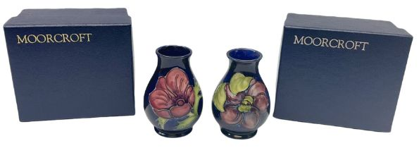 Two Moorcroft vases of baluster form