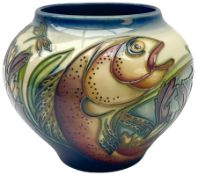 Moorcroft vase of ovoid form