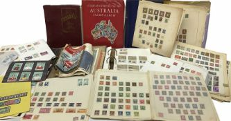 World stamps including small number of Chinese