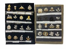 Collection of thirty-two reproduction military badges