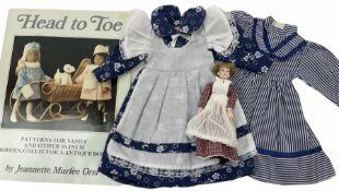 Heidi Ott doll in tartan dress