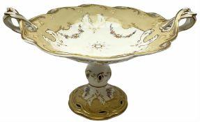 Victorian porcelain comport