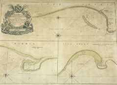 Capt. Greenvile Collins (British 1643-1694): 'Burlington Bay