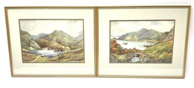 Cecil Thomas Hodgkinson (British 1895-1979): Serene Loch Landscapes