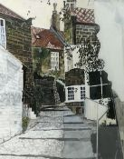English School (Contemporary): Street scene