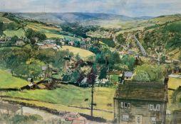After Trevor Stubley (British 1921-2010): 'Holmfirth'