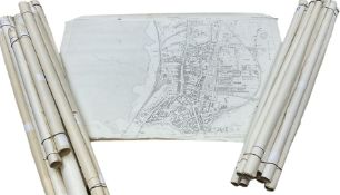 Large collection early-mid 19th century Ordnance Survey maps