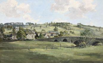 Claude Horsfall (British 1907-2003): 'Kildwick near Keighley'