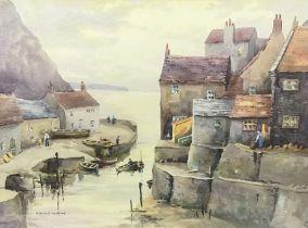 Cecil Thomas Hodgkinson (British 1895-1979): Staithes