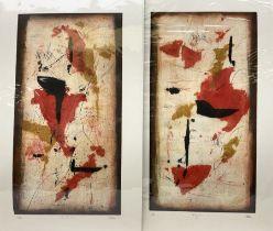 Renzo Galassi (Italian contemporary): 'Inys' and 'Zohan'