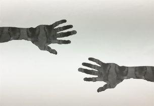 Sir Antony Gormley RA (British 1950-): 'Hands'