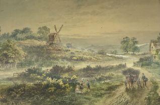 English School (Early 19th century): Hayward's Heath West Sussex