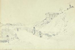 John Edward Bromby RBA (British 1809-1889): 'At Goathland'