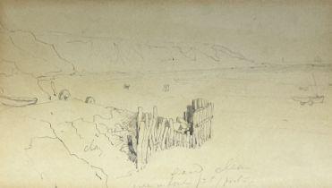 Joseph Newington Carter (British 1835-1871): Filey Brigg