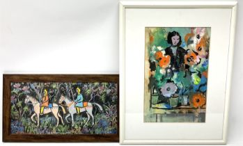 Angela Stones (British 1914-1995): 'Crusaders' and 'Girl in a Greenhouse'