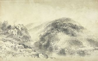 Joseph Newington Carter (British 1835-1871): 'Scalby Mills'