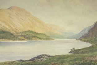 Sidney Valentine Gardner (Staithes Group 1869-1957): Loch Landscape