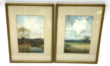 John Reginald Goodman (British 1870-1962): Norfolk Landscapes