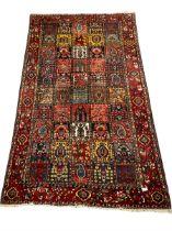 Large Persian garden rug