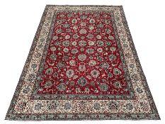 Large Persian Tabriz carpet
