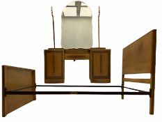 Ernest Gomme - early 20th century Art Deco oak dressing table