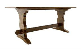 �Gnomeman� oak dining table