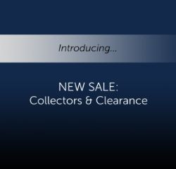 Collectors & Clearance