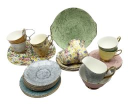 Royal Albert Gossamer pattern Fashion tea ware