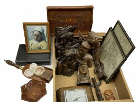Miscellaneous items including decorative items