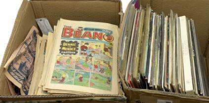 Beano comics 1985 and 1986