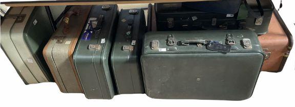 Vintage travelling cases