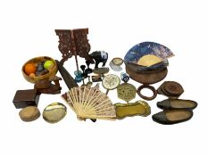 Miscellaneous collectables including parasol