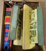Quantity of Hornby railway tinplate and similar