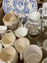 Collection of Royal Commemorative ware