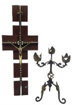 Modern Continental decorative crucifix