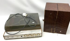 Ultra Group Stereo turntable and two speakers
