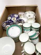 Collection of Victorian tea wares