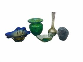 Small group of Art Glass