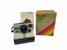 Boxed Polaroid 1000 camera