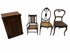 Child�s cane chair