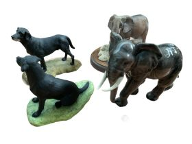 Goebel model of an elephant