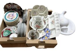Quantity of Chelsea Flower Show collectors plates by Minton