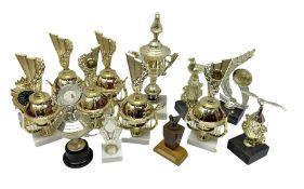 Various trophies